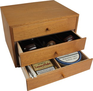 Humidor / Umidificatore Adorini Pipe Collection Cabinet Poul