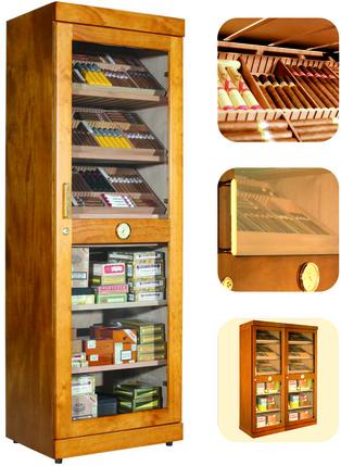 Humidor adorini Roma (mahogany) electronic cabinet humidor